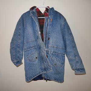 Jackets & Blazers - Oversized vintage denim coat